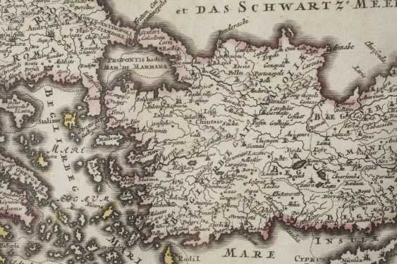 Homanns Heirs, Copper Engraving Map Of The Middle East - photo 4