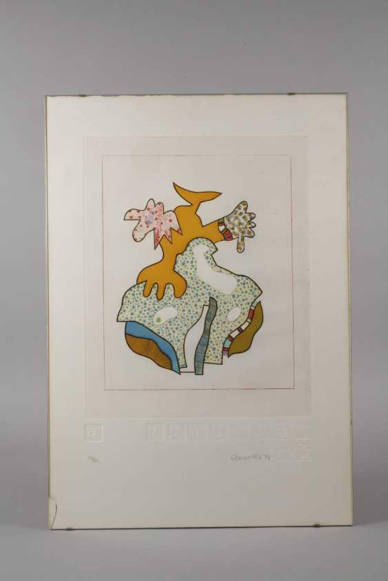 Otmar Alt, Abstract Composition - photo 2