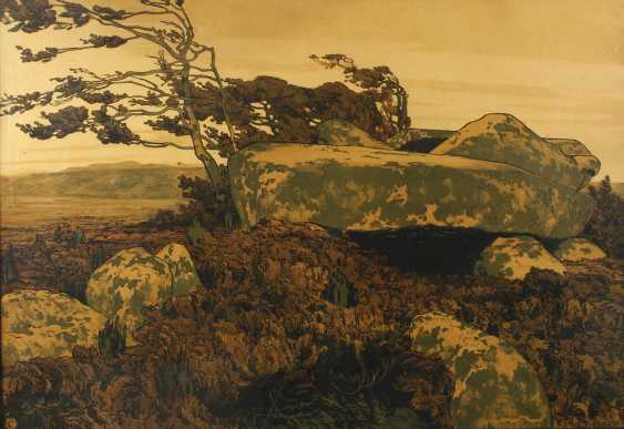 "Karl tuck, ""mound in the Heather"" - photo 1"