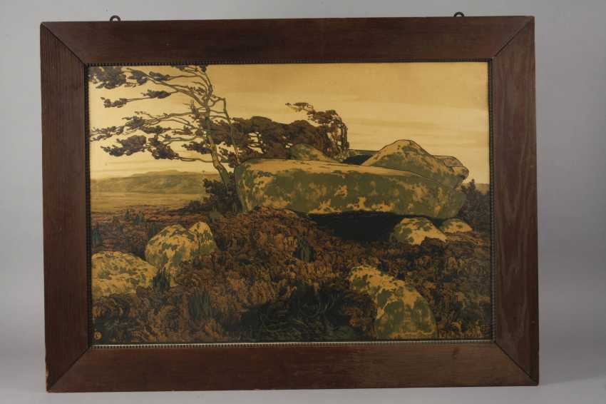 "Karl tuck, ""mound in the Heather"" - photo 2"
