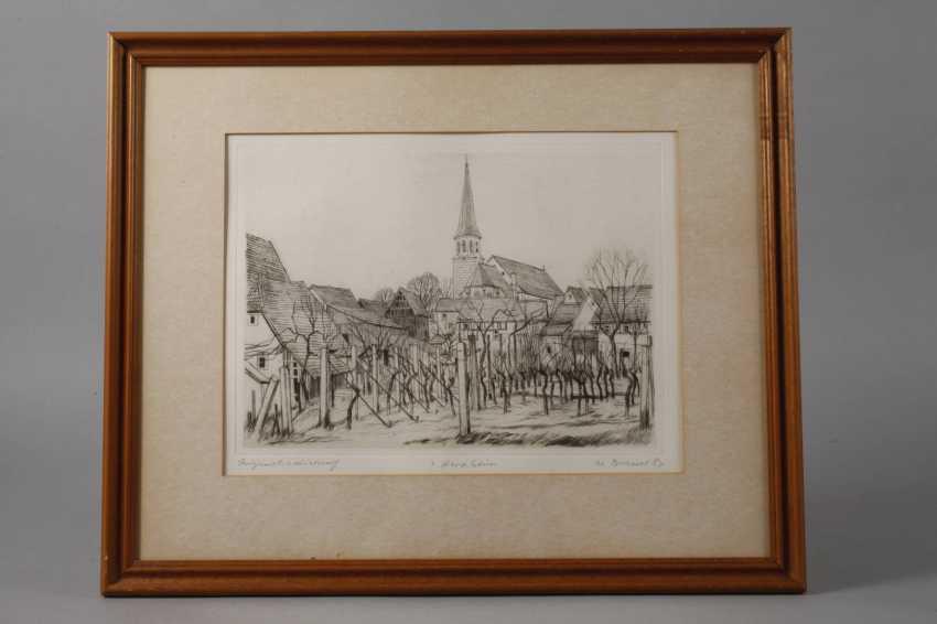 Werner Brand, Zwei Motive aus Herxheim - Foto 2