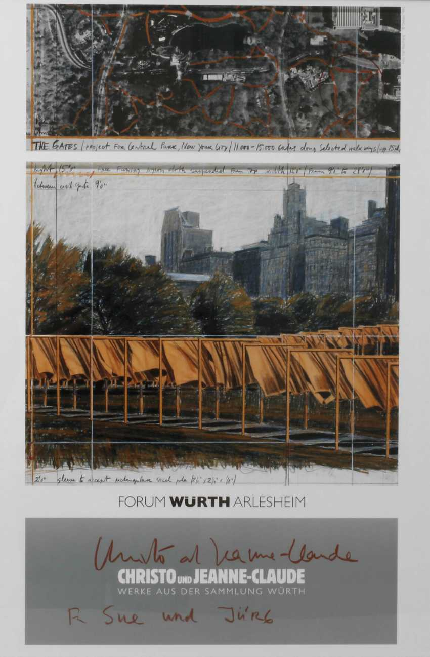 Poster Christo and Jeanne-Claude - photo 1