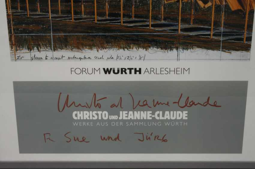 Poster Christo and Jeanne-Claude - photo 2