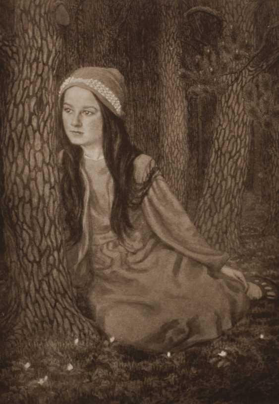 "Fidus, ""daughter of the artist"" - photo 1"