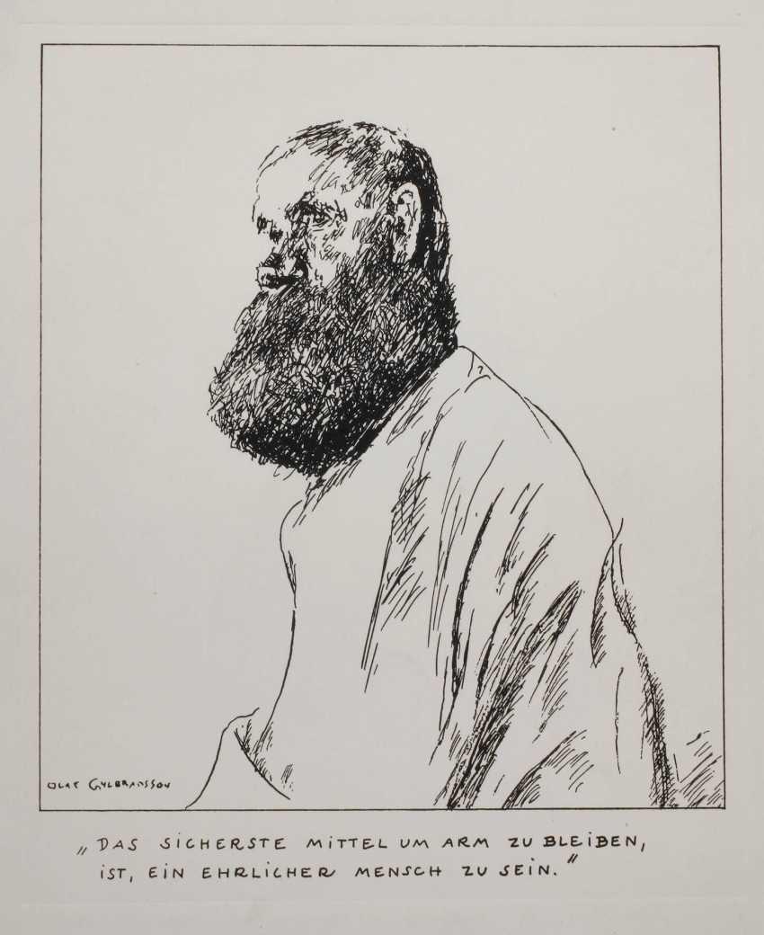 Olaf Gulbransson, Mr Portrait - photo 1