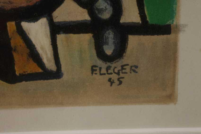 "Fernand Leger, ""Musicians and acrobats"" - photo 3"