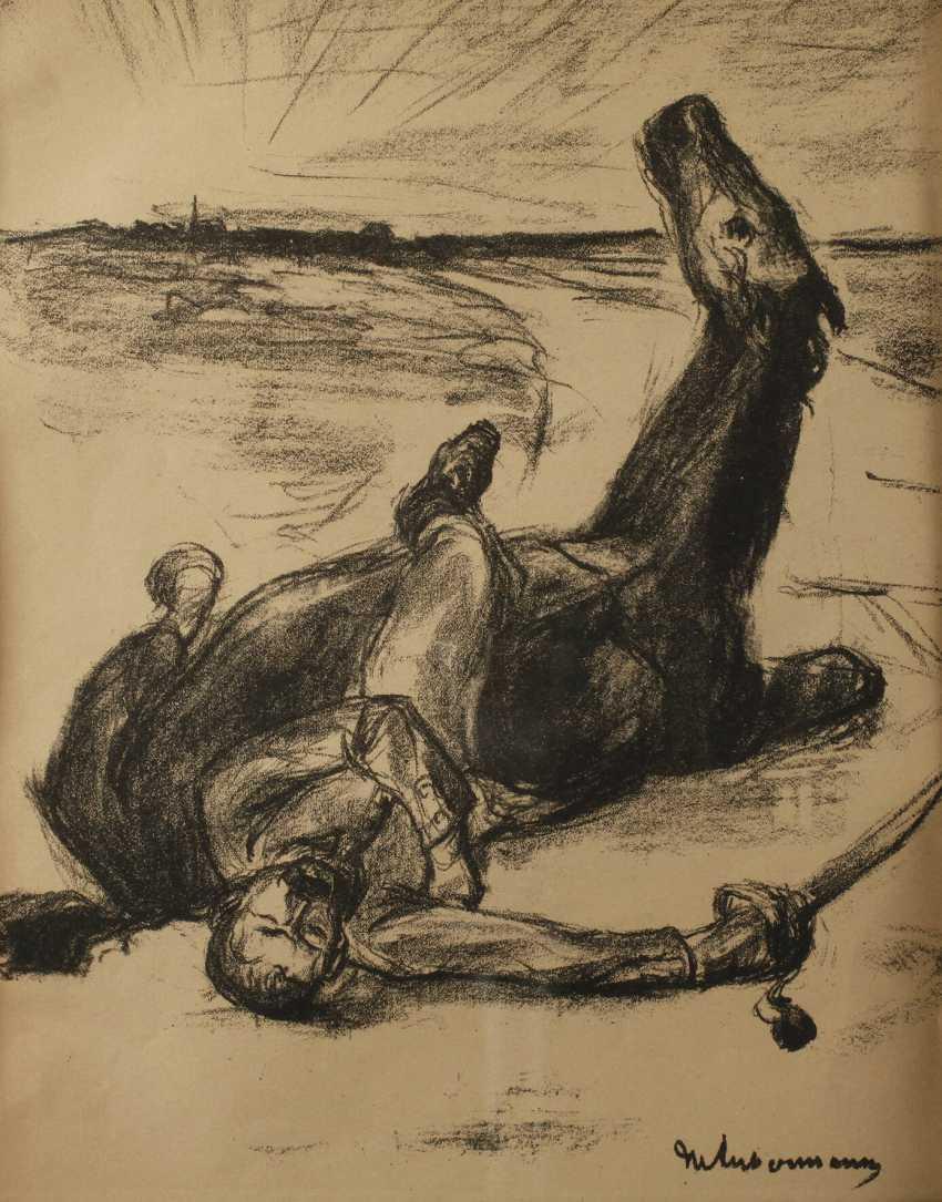 Max Liebermann, Fallen Soldier - photo 1