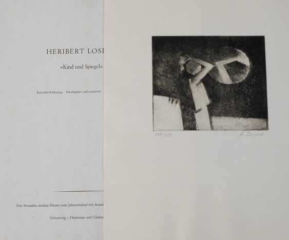 """Heribert Losert, """"the child and the mirror"""" - photo 1"""