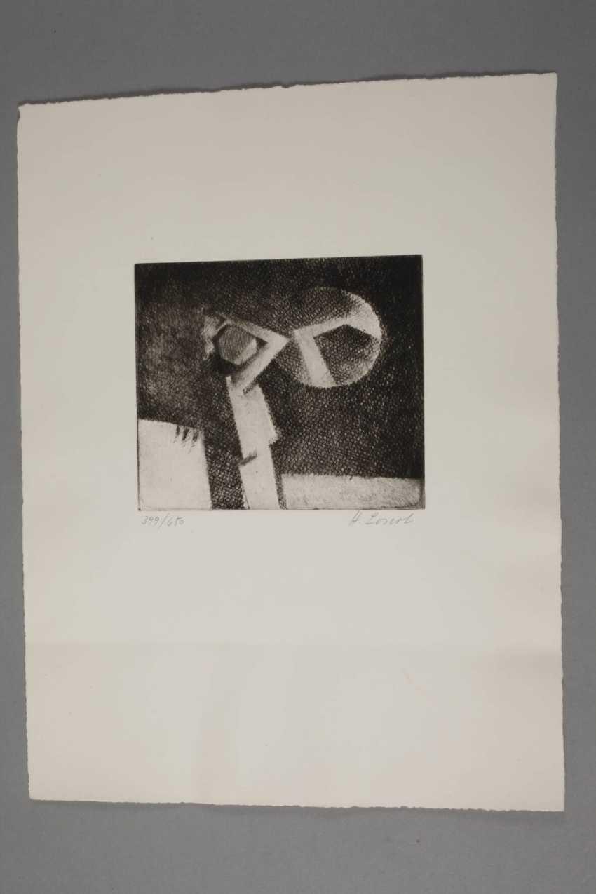 """Heribert Losert, """"the child and the mirror"""" - photo 3"""