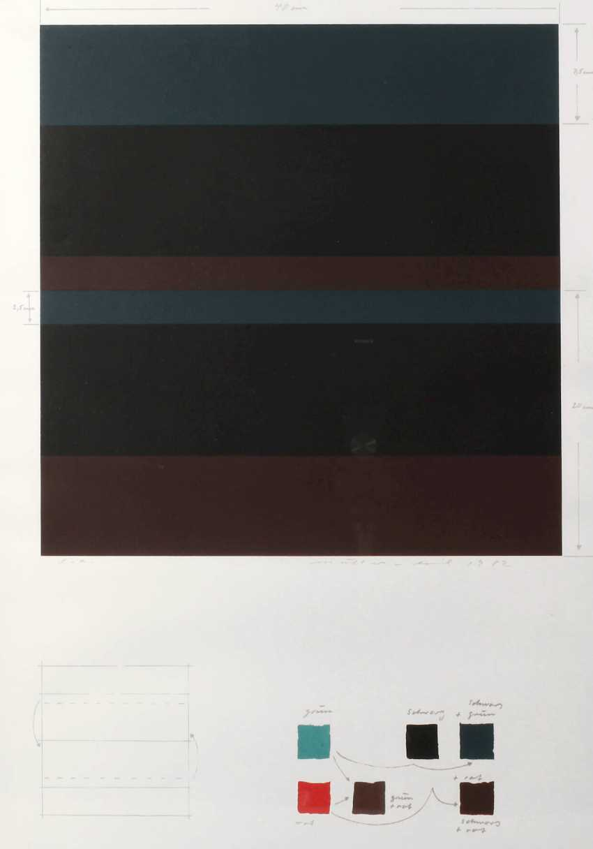 Emil Müller, Colour Composition - photo 1