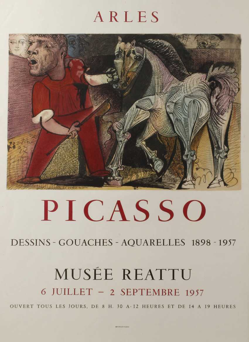 Pablo Picasso, Plakat - photo 1