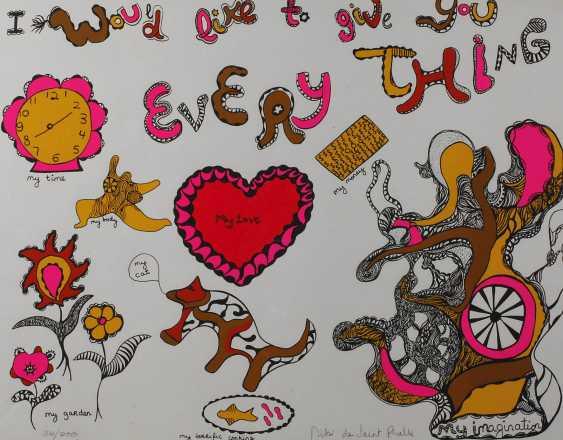 Nicky des Saint Phalle, Farbserigraphie - photo 1