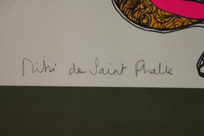 Nicky des Saint Phalle, Farbserigraphie - photo 3