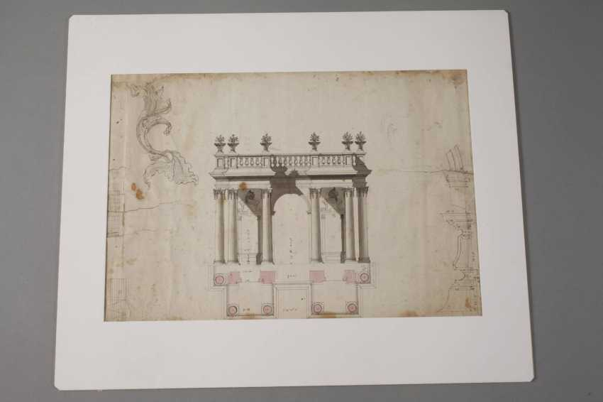Architecture drawing - photo 2