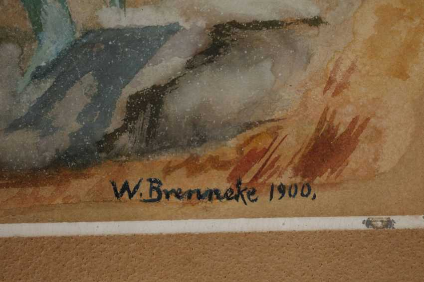 W. Brennecke, game in Italy - photo 3