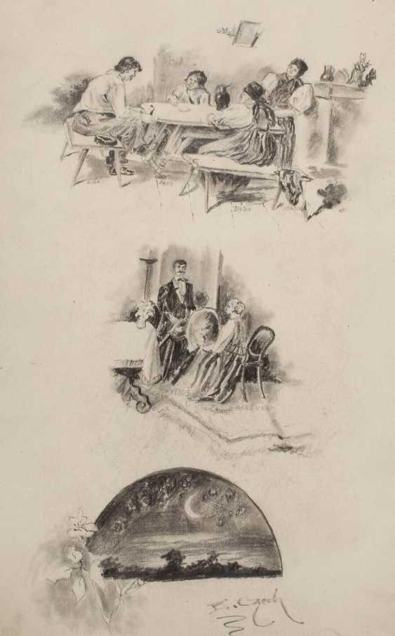Emil Czech, Illustrationsstudien - photo 1
