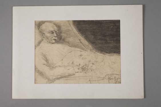 Emanuel Large, Bismarck on his death bed - photo 4