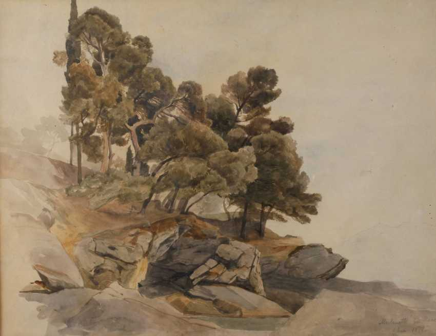 """Prof. Edmund Kanoldt attributed to """"Mulinetti in Recco"""" - photo 1"""