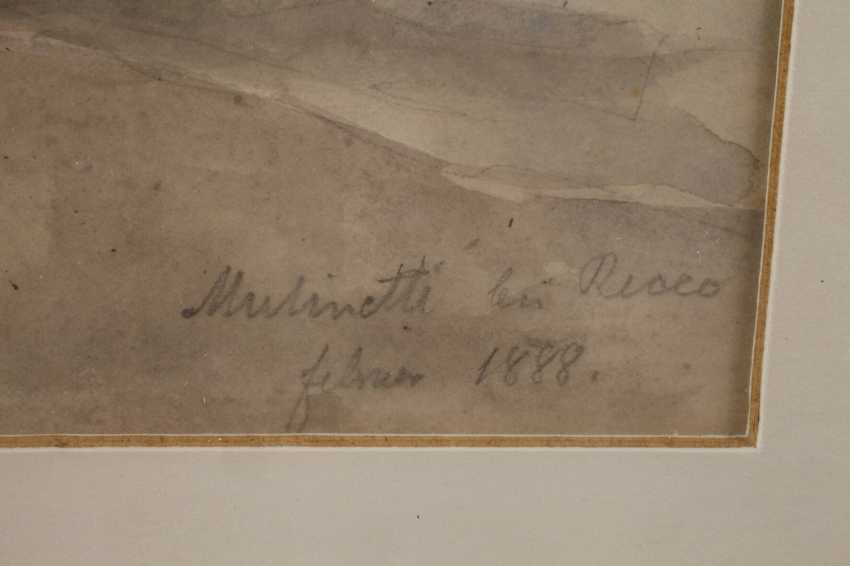 """Prof. Edmund Kanoldt attributed to """"Mulinetti in Recco"""" - photo 3"""