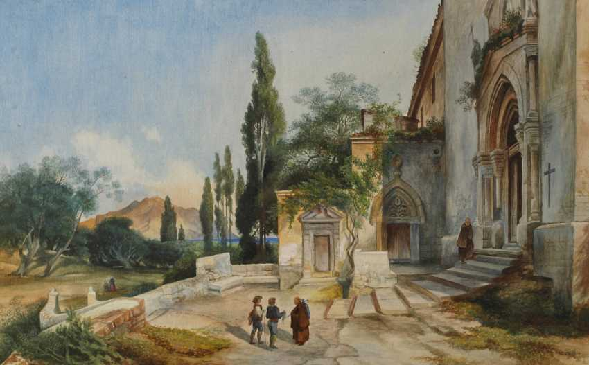 Lina Pommerening, the entrance to a monastery - photo 1