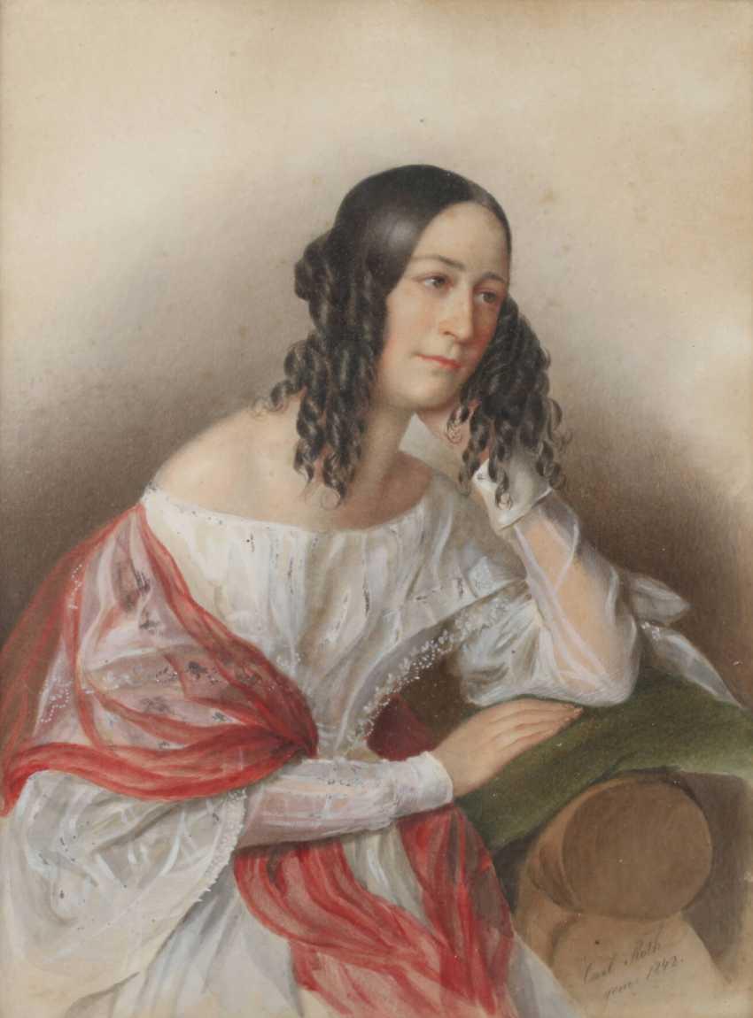 Carl Roth, Seated Lady - photo 1