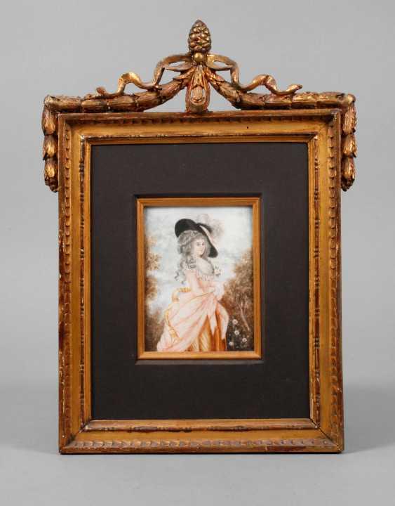 Ch. Roze, Rokoko-Damenportrait - photo 1