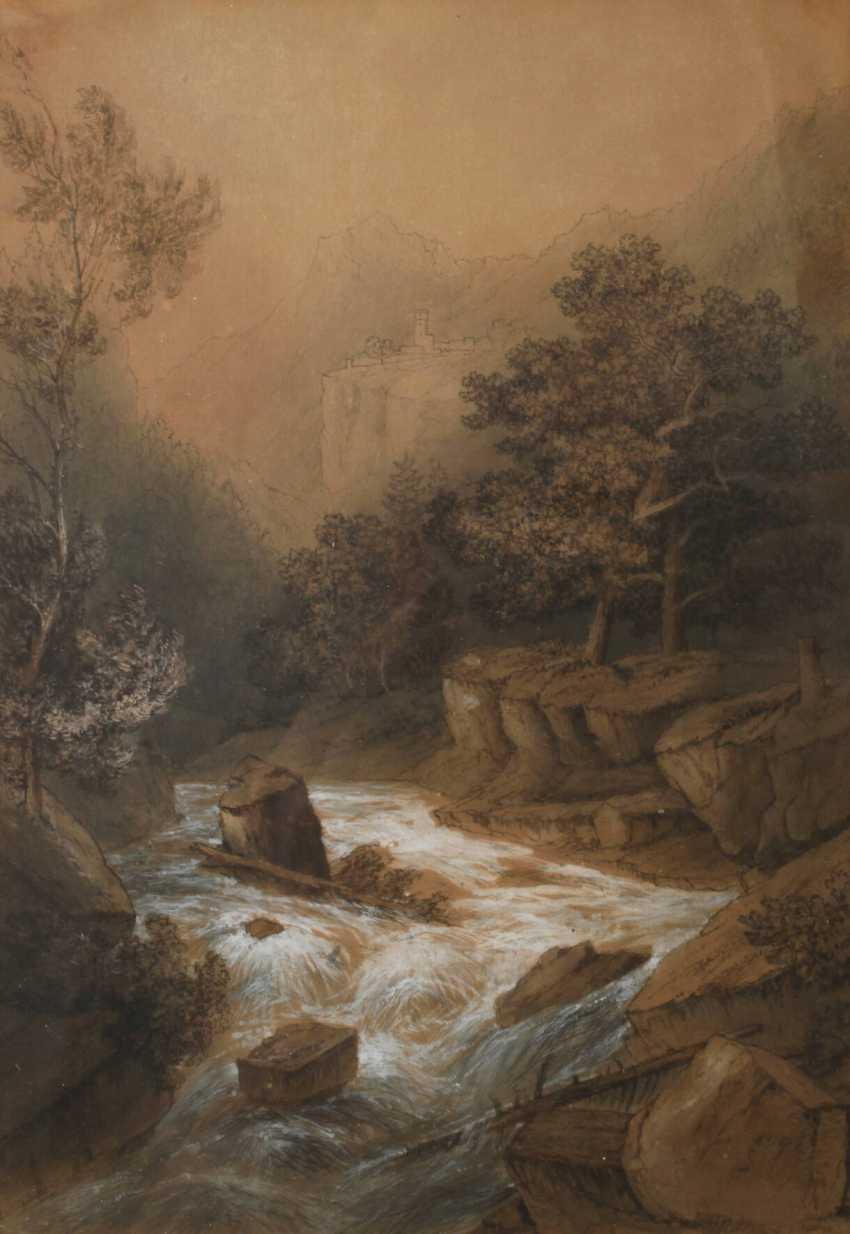 Theodor Verhas, attributed to The wild stream - photo 1