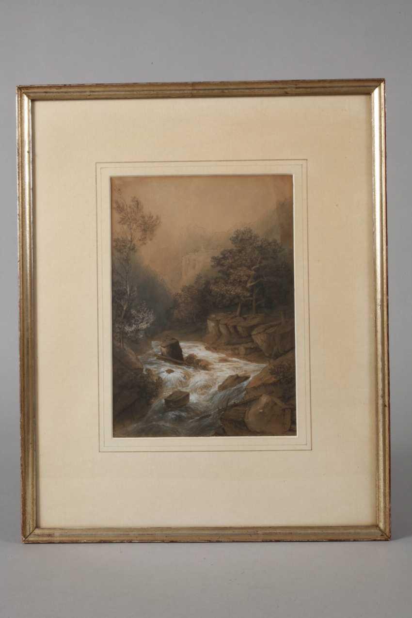 Theodor Verhas, attributed to The wild stream - photo 2