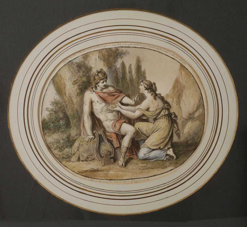 Apollo and the sibyl - photo 1