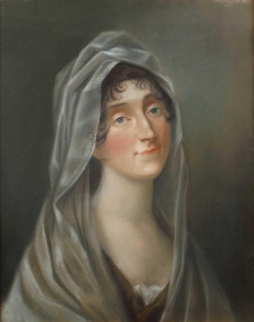 Дама с вуалью - фото 1
