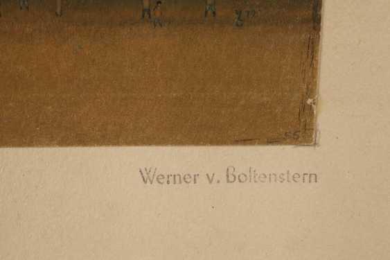 Werner de Boltenstern, Village avec couple de chevaux - photo 3