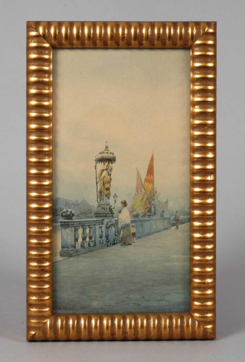 Eugenio Bonivento, Ansicht Chioggia - photo 1