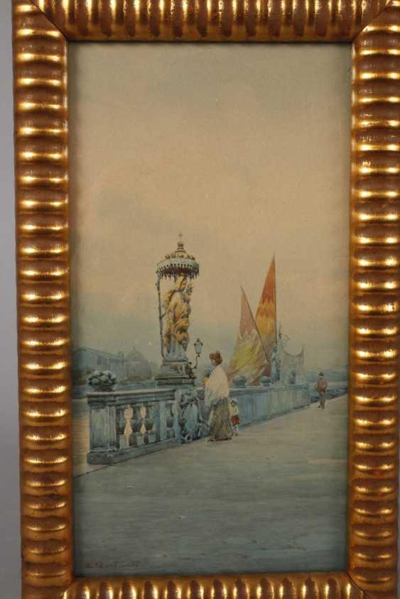 Eugenio Bonivento, Ansicht Chioggia - photo 2