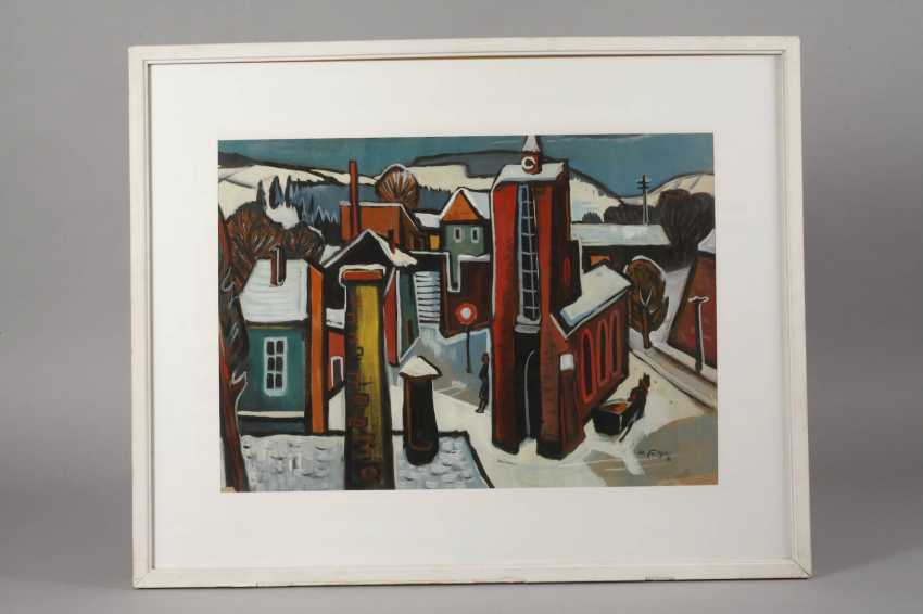 Heinz Fülfe, the city in the Winter - photo 2
