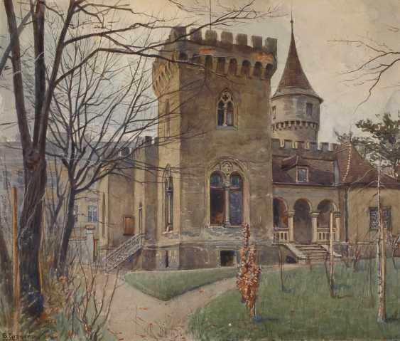 Ernst Graner, view of a Villa - photo 1