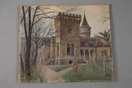 Ernst Graner, view of a Villa - photo 2