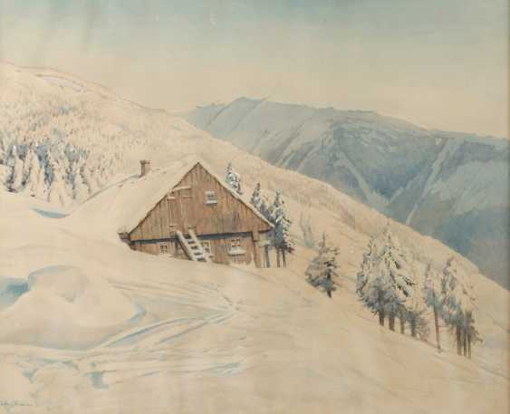 Friedrich Ivan, Winter in the giant mountains - photo 1
