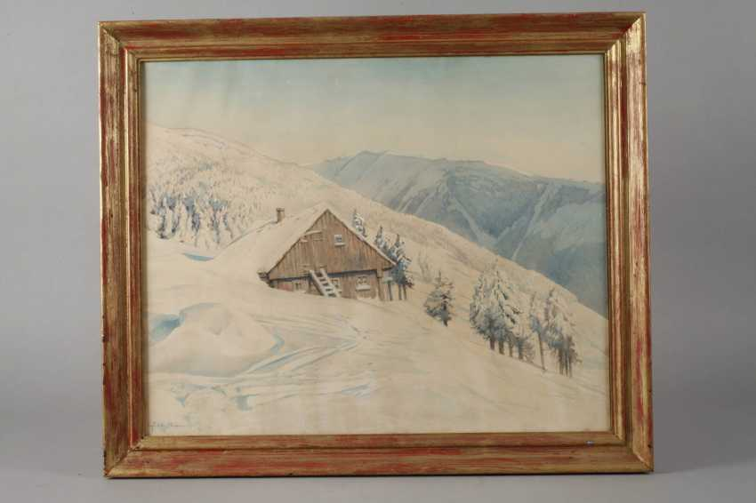 Friedrich Ivan, Winter in the giant mountains - photo 2