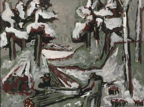 Oscar Kehr-Steiner, A, Winter, Forest - photo 1