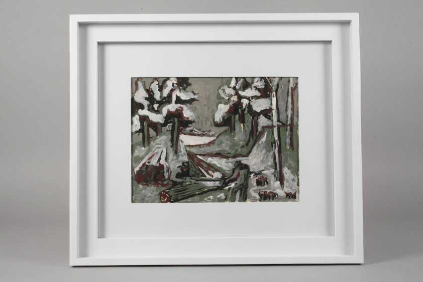 Oscar Kehr-Steiner, A, Winter, Forest - photo 2