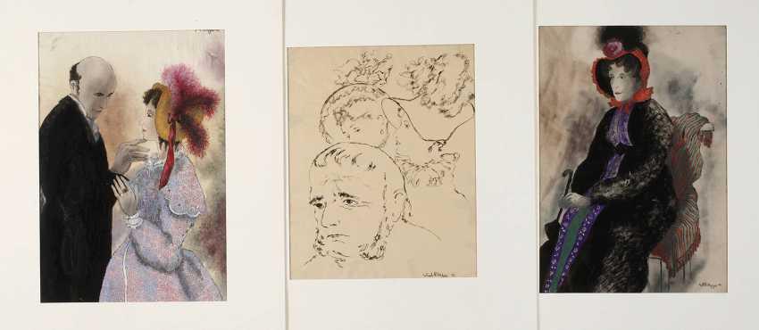 Erhard Klepper, Three Drawings - photo 1