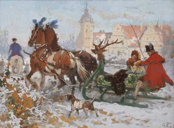 Prof. Georg Koch, Sleigh Ride - photo 1