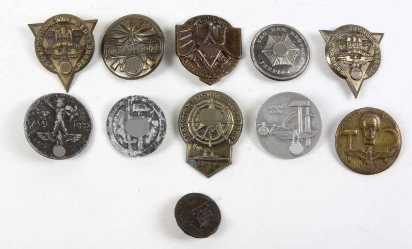 11 Anlaßabzeichen u.a. 1934/37 - photo 1