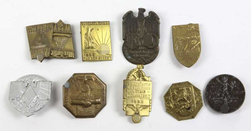 11 Anlaßabzeichen u.a. 1933/37 - photo 1
