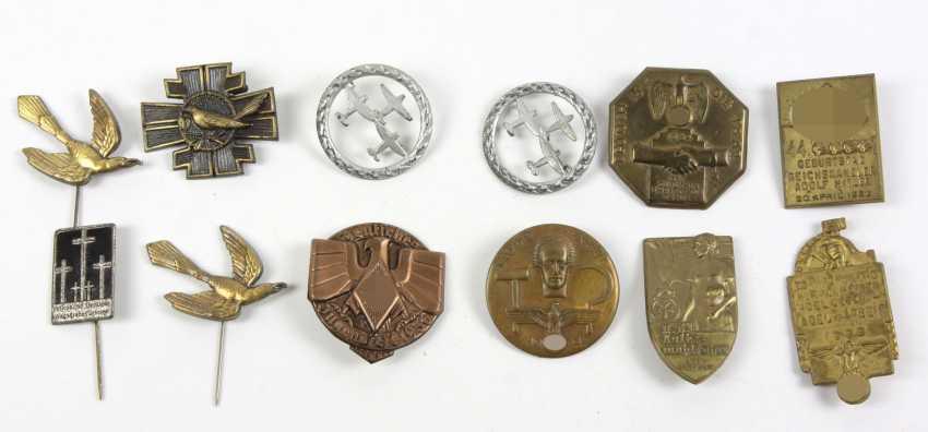 12 Anlaßabzeichen u.a. 1933/36 - photo 1