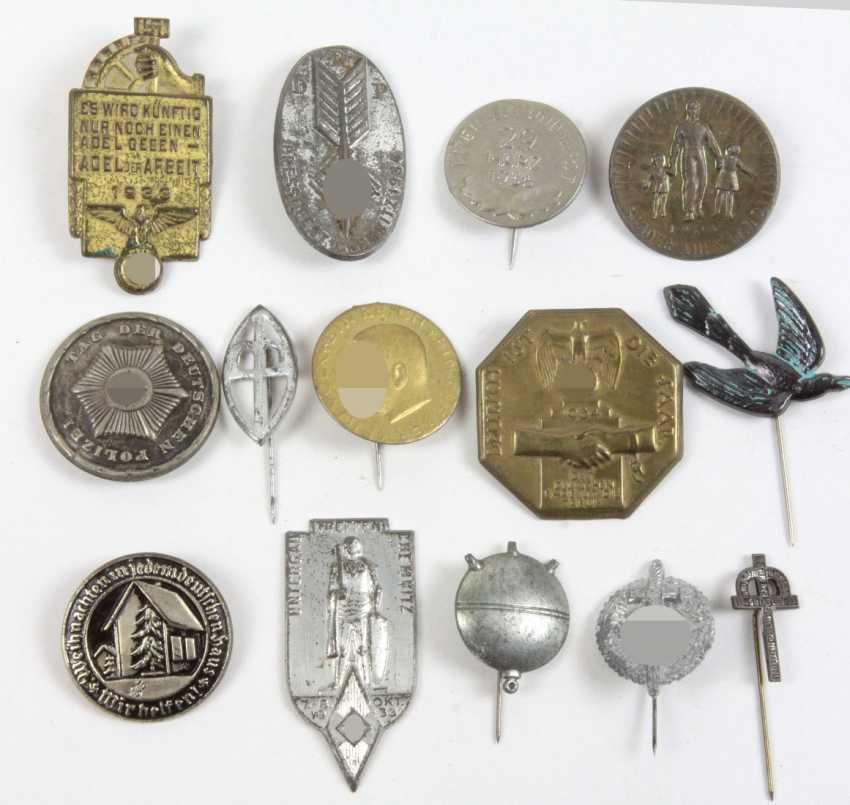 14 Anlaßabzeichen u.a. 1933/36 - photo 1