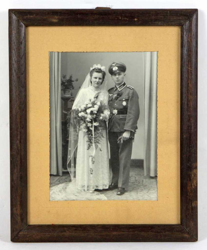 Hochzeitsbild im Rahmen - photo 1