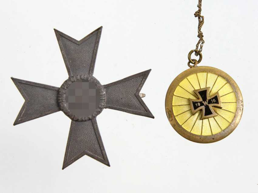 Kriegsverdienstkreuz 1. Klasse 1939 u.a. - photo 1