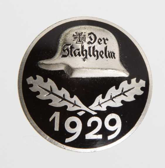 Stahlhelm Eintrittsabzeichen 1929 - photo 1