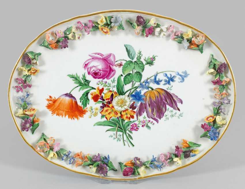 Zierschale с литого цветы венок - фото 1